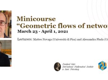 "Миникурс ""Geometric flows of networks"""