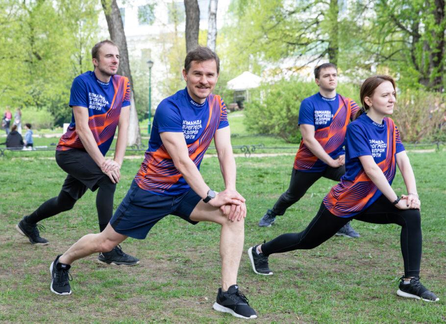 «Команда прогресса» на спортивном мероприятии «ЗСД-Фест»